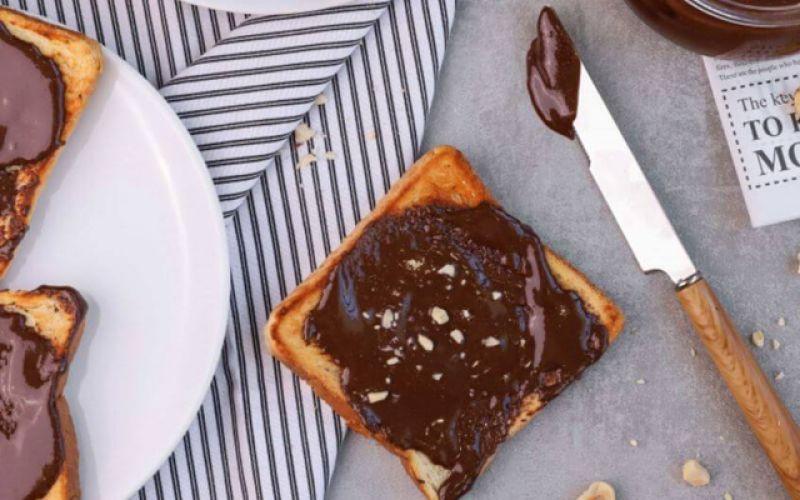 Θεϊκή απόλαυση με vegan πραλίνα σοκολάτας