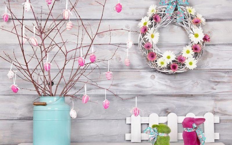 5+1 ιδέες για την πασχαλινή διακόσμηση του σπιτιού σας
