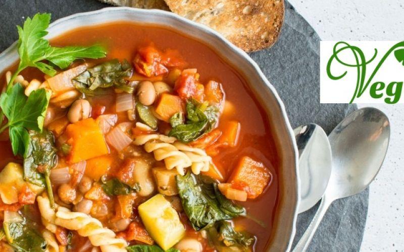 Μινεστρόνε, μια σούπα με πράσινα λαχανικά